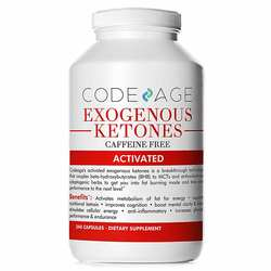CodeAge Exogenous Ketones Caffeine Free