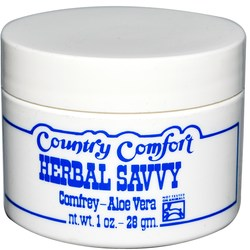 Country Comfort Herbal Savvy Comfrey-Aloe Vera