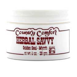 Country Comfort Myrrh-goldenseal Savvy