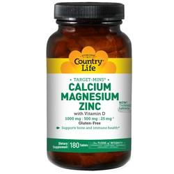 Country Life Calcium-Magnesium-Zinc