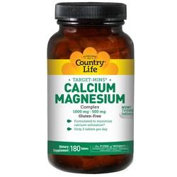 Country Life Calcium Magnesium Complex