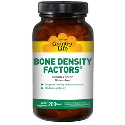 Country Life Bone Density Factors