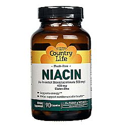Country Life Flush Free Niacin 400 mg