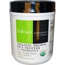 DaVinci Laboratories Organic Brown Rice Protein