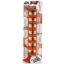 Dancing Paws Pills 2 Go Organizer - Orange