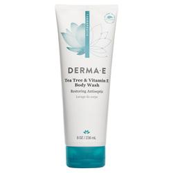 Derma E Tea Tree  E Face and Body Wash