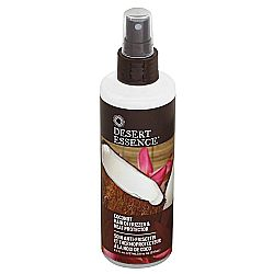 Desert Essence Coconut Hair Defrizzer and Heat Protector