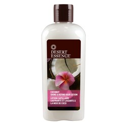 Desert Essence Coconut Shine  Refine Hair Lotion