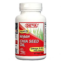 Deva Vegan Chia Seed Oil
