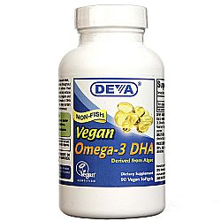 Deva Vegan Omega-3 DHA