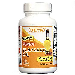 Deva Organic Vegan Flaxseed Oil