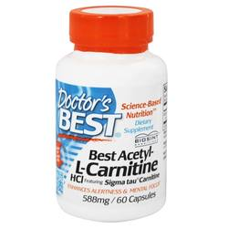 Doctor's Best Acetyl L-Carnitine 588 mg