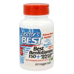 Doctor's Best Benfotiamine and Alpha Lipoic Acid