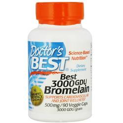 Doctor's Best Bromelain 3000 GDU