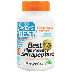 Doctor's Best High Potency Serrapeptase