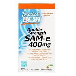 Doctor's Best Double Strength SAMe 400
