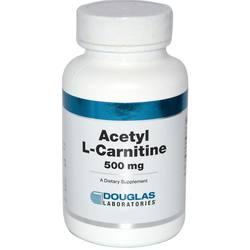 Douglas Labs Acetyl L-Carnitine 500 mg