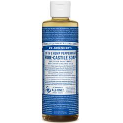 Dr. Bronner's Peppermint Oil Pure Castile Soap
