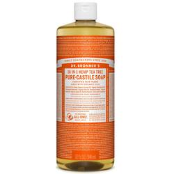 Dr. Bronner's Tea Tree Oil Pure Castile Soap