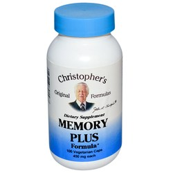 Dr. Christophers Memory Plus Formula