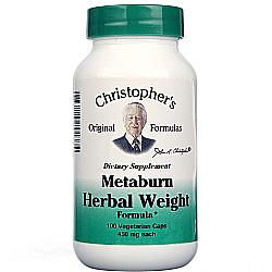 Dr. Christophers Metaburn Weight Formula