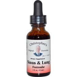 Dr. Christophers Sinus  Lung Form (Herb Decongest)