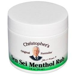 Dr. Christophers Menthol Rub Sensei Balm