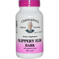 Dr. Christophers Slippery Elm Bark 375 mg