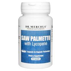 Dr. Mercola Saw Palmetto with Lycopene