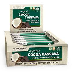 Dr. Mercola Cocoa Cassava Bars (Box)