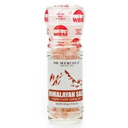 Dr. Mercola Himalayan Cooking Salt with Grinder