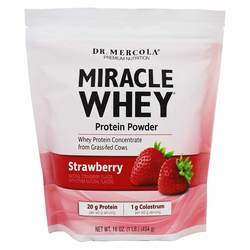 Dr. Mercola Miracle Whey Strawberry