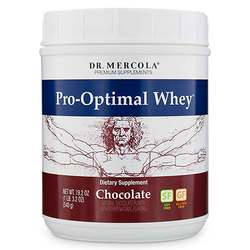 Dr. Mercola Pro-Optimal Whey Chocolate