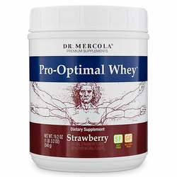 Dr. Mercola Pro-Optimal Whey Strawberry