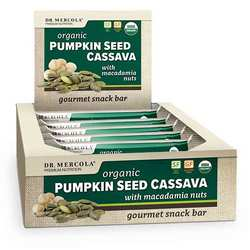 Dr. Mercola Pumpkin Seed Cassava with Macadamia Nuts (Box)