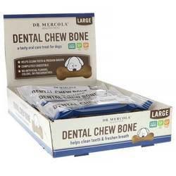 Dr. Mercola Dog Dental Chew Bones (Large Dog)