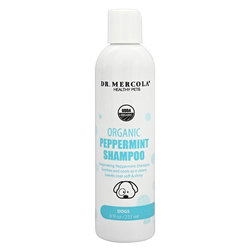 Dr. Mercola Organic Peppermint Shampoo for Dogs