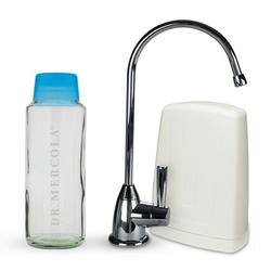 Dr. Mercola Premium Under Counter Drinking Water filter (Chrome)