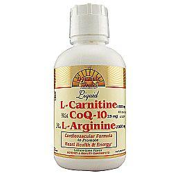 Dynamic Health Laboratories L-Carnitine with CoQ10 Plus L-Arginine