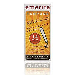 Emerita Organic Cotton Tampons
