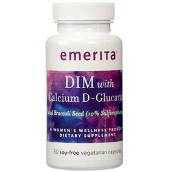 Emerita DIM Formula with Calcium D-Glucarate