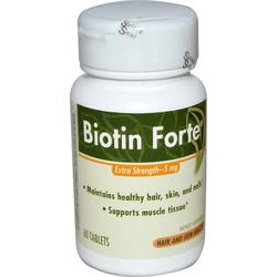 Enzymatic Therapy Biotin Forte