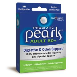 Enzymatic Therapy Probiotic Pearls Adult 50+