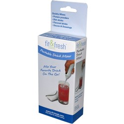 Fit and Fresh Portable Drink Mixer