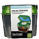 Fit and Fresh Salad Shaker Green