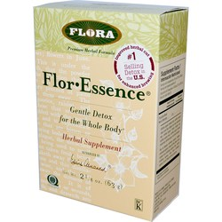 Flora Flor-Essence Detox Formula-  Dry Herbal Tea Blend