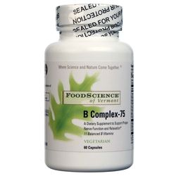 FoodScience of Vermont B Complex-75