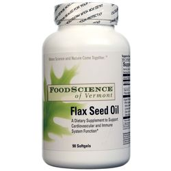FoodScience of Vermont Flax Seed Oil