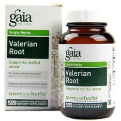 Gaia Herbs Valerian Root 225 mg