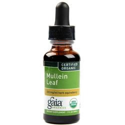 Gaia Herbs Organic Mullein Leaf